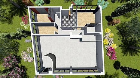Prestation d'architecture intérieur, Aménagement agencement et décoration d'un appartement, par l'architecte décorateur d'intérieur Mosser Intérieur Design dans le Var