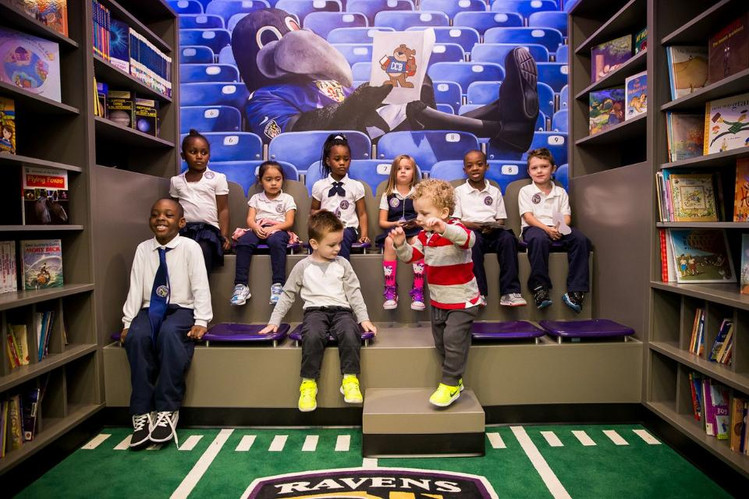 Ravens Unveil New Library