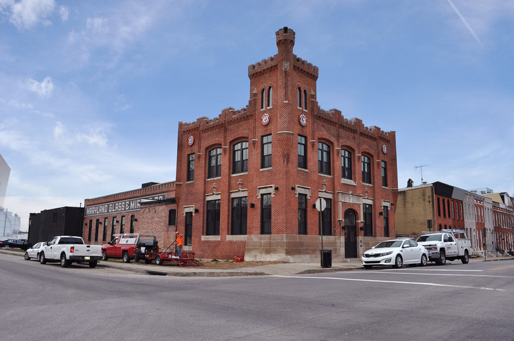 Progress at Historic Pabst Brewing Building