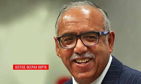 Deepak Gupta: A man with a Voice Of Dissent
