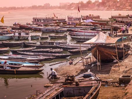 Amanhecer em Varanasi
