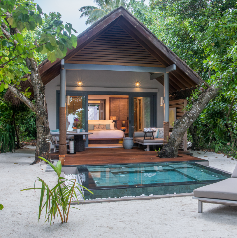 Beach Villa with Plunge Pool