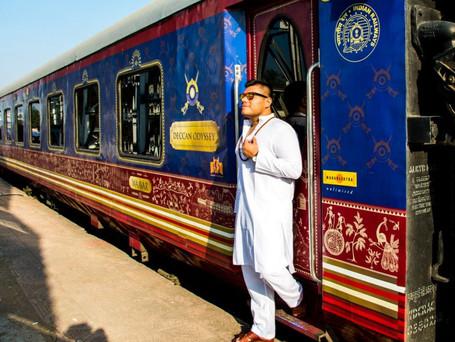 Trens de luxo na Índia: nostalgia sobre trilhos