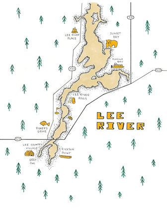 Lee River 8x10