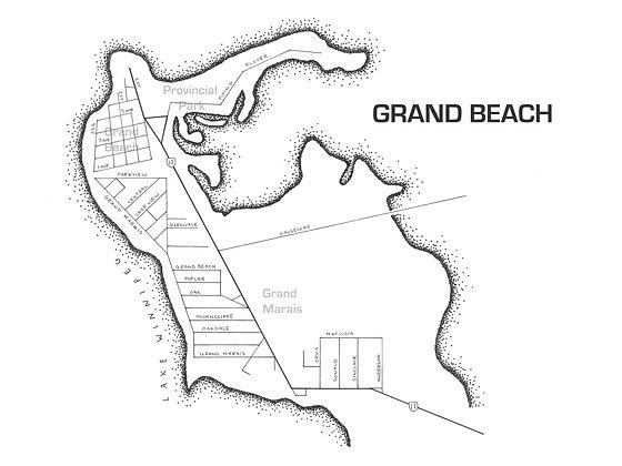 Grand Beach 12x16