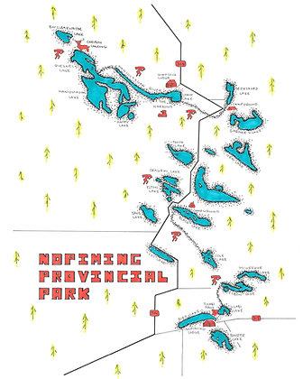 Nopiming Provincial Park 8x10