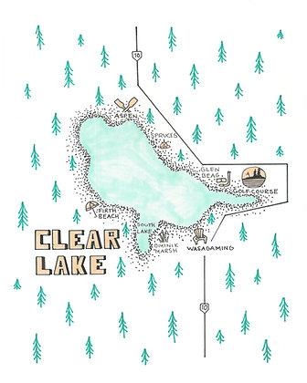 Clear Lake 8x10