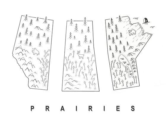 Prairies 12x16