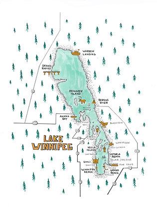 Lake Winnipeg 8x10