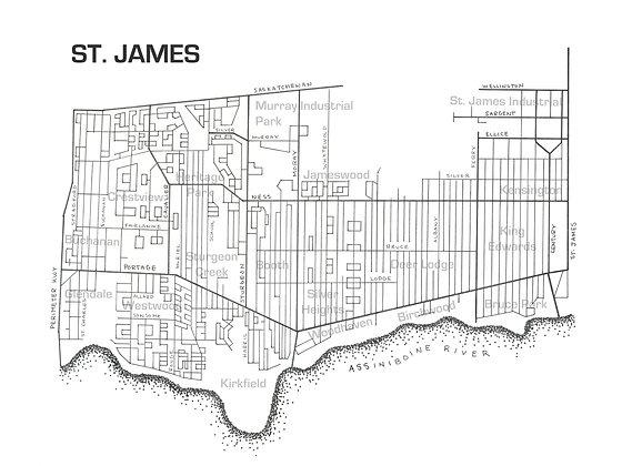 St James 12x16