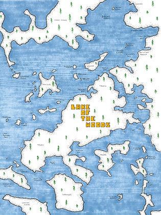 Treaty Island 12x16