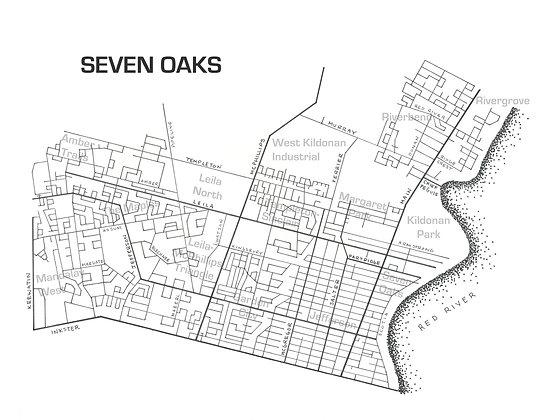Seven Oaks 12x16