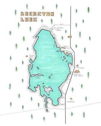 Brereton Lake 8x10