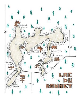 Lac Du Bonnet 8x10