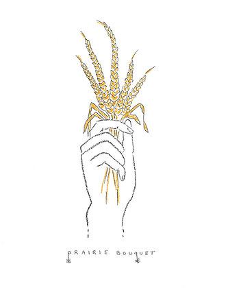 Prairie Bouquet 8 x 10