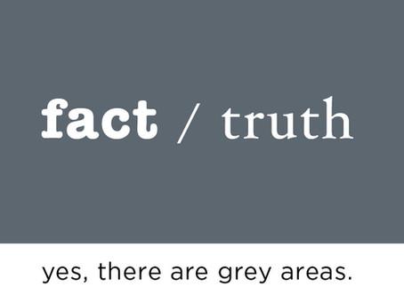 fact vs. truth