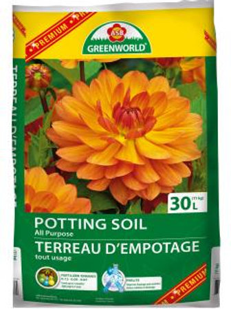 Soil - Medium Bag - 30L Potting Soil