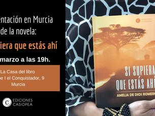 Presentación en Murcia: confirmada