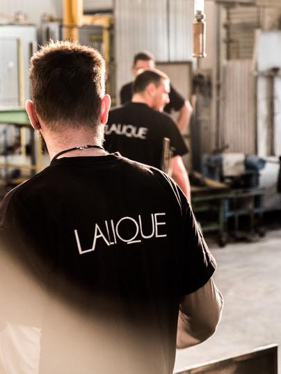 Patrón en Lalique