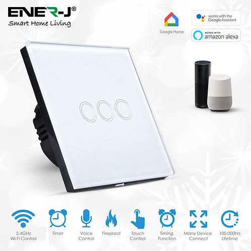 Smart WiFi Touch Switch 3 Gang