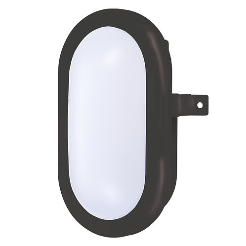 Lumineux BH700 5W black oval LED bulkhead light is a robust, IP65 rated, highly efficient and great value LED bulkhead light.