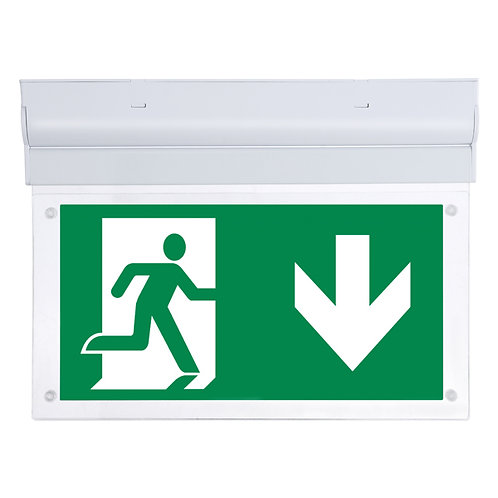 Lumineux Fontburn 3W 2-in-1 LED emergency exit sign