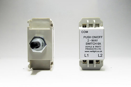 Varilight 2-Way Push-On/Off Switch Module (Dummy Dimmer)
