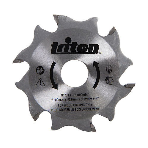Triton Biscuit Jointer Blade 100mm