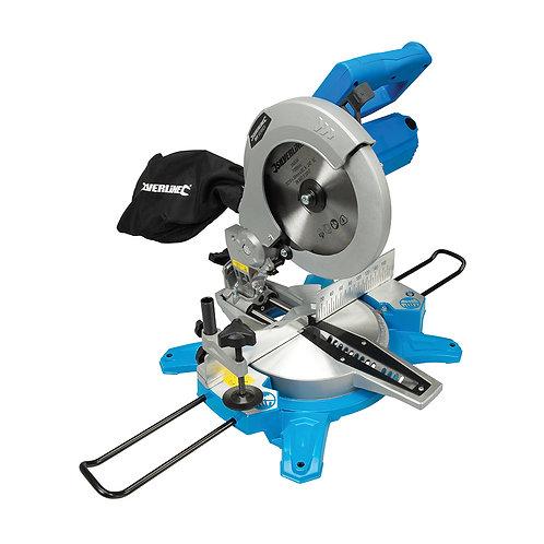 Silverline DIY 1450W Sliding Mitre Saw 210mm