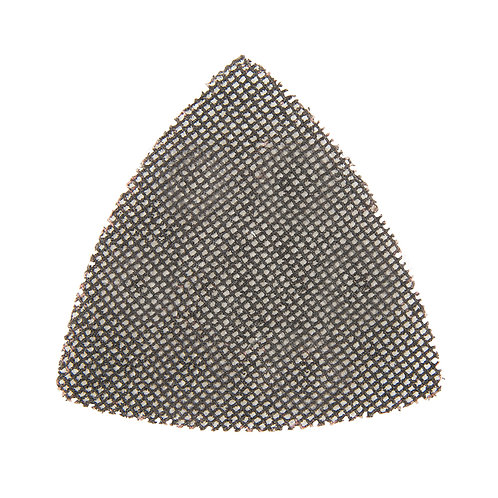 Silverline Hook & Loop Mesh Triangle Sheets 95mm 10pk