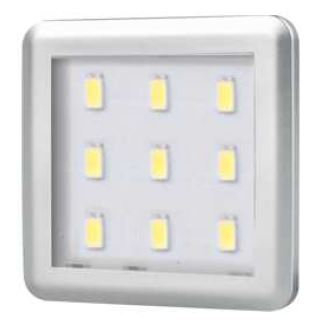 Square 2.5W under cabinet light