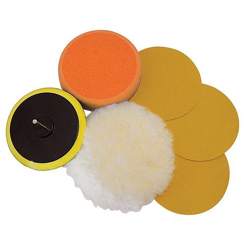 Silverline Sanding & Polishing Kit 6pce