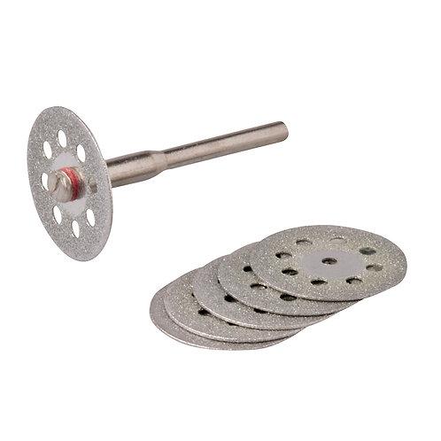 Silverline Rotary Tool Diamond Vented Cutting Disc Set 6pce