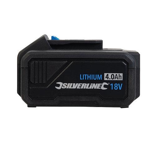 Silverline 18V Li-ion Battery 4.0Ah