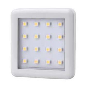 Square 1.5W under cabinet light