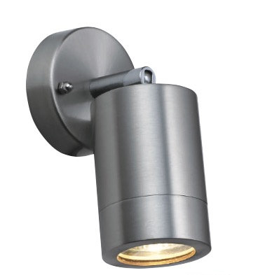TimeLED Piazza Brushed Steel GU10 Adjustable Spotlight
