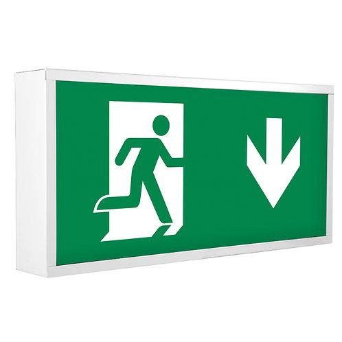 Lumineux Redbrook 5W emergency exit box