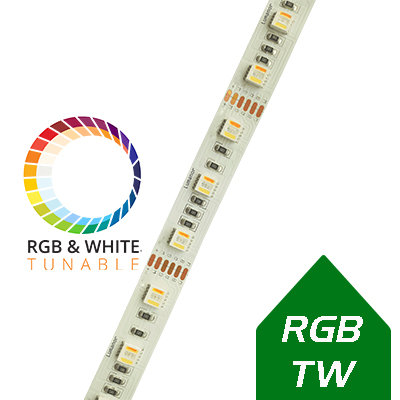 Lumanor RGB+CCT 19W/m LED strip light 5m reel