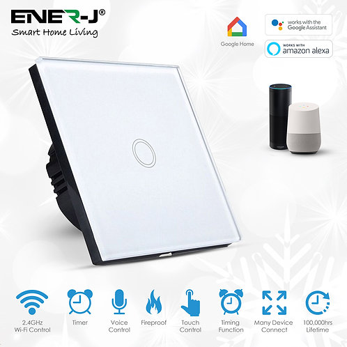 Smart WiFi Touch Switch 1 Gang