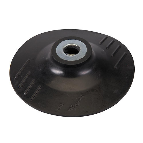 Silverline Rubber Backing Pad