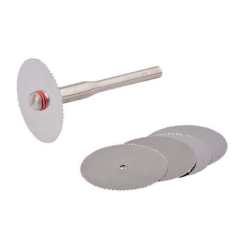 Silverline Rotary Tool SS Saw Blade Set 6pce