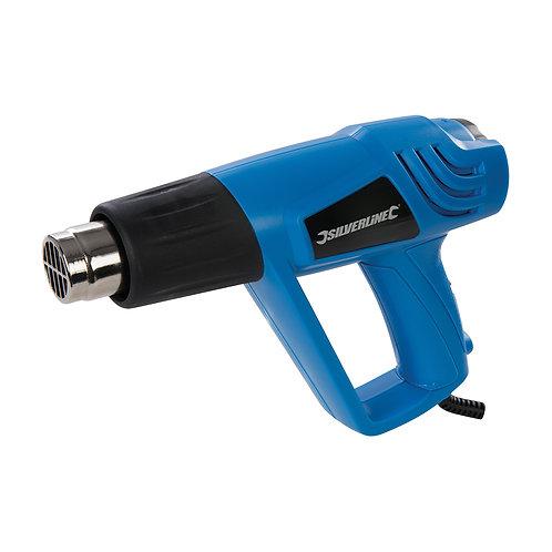 Silverline 2000W Adjustable Heat Gun
