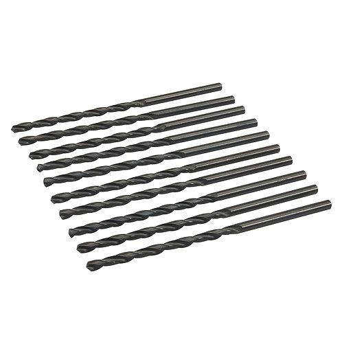 Silverline Metric HSS-R Long Series Bits 10pk