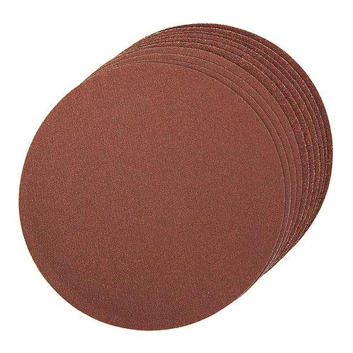 Silverline Self-Adhesive Sanding Discs 150mm 10pk