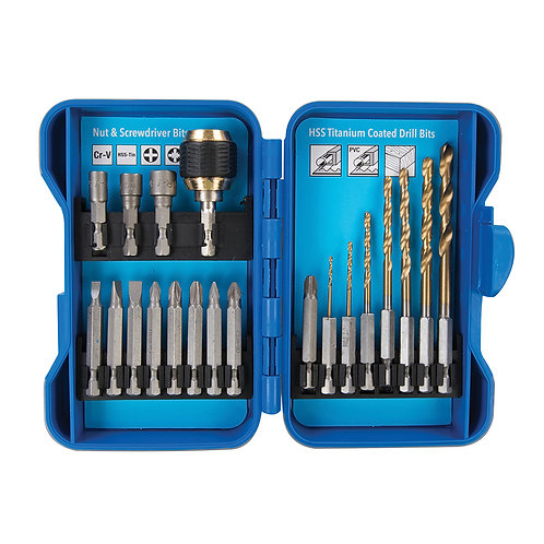 Silverline Quick Change Drilling & Driving Set 20pce