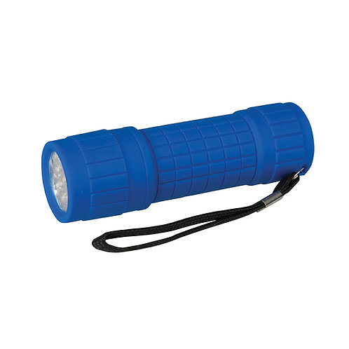 Silverline LED Soft-Grip Torch