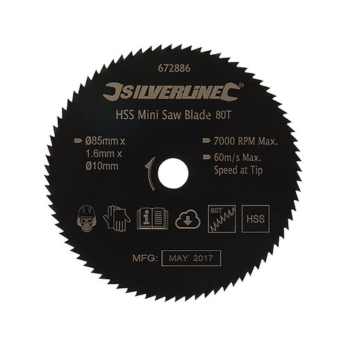 Silverline HSS Mini Saw Blade