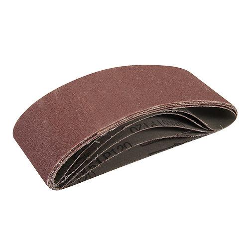 Silverline Sanding Belts 60 x 400mm 5pk