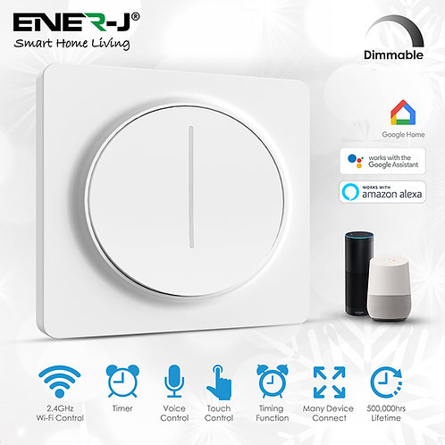 Ener-J smart WiFi dimmable touch switch
