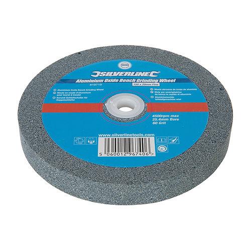 Silverline Aluminium Oxide Bench Grinding Wheel